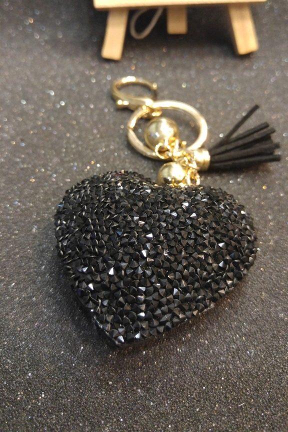 μπρελόκ-στρας-καρδιά-μαύρο