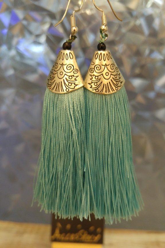 σκουλαρίκια-κρόσια-γαλάζιο