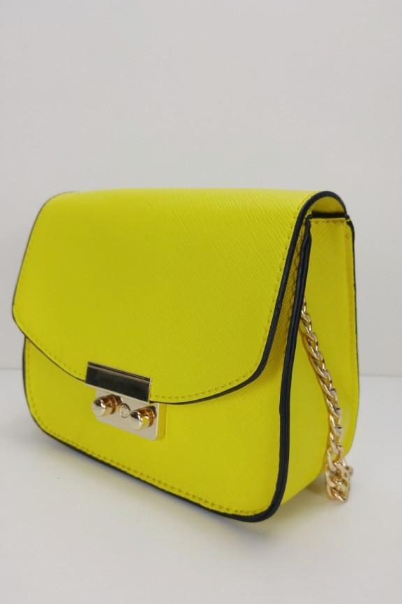 724609409f Τσαντάκι χιαστί  Candy  Κίτρινο - Τσαντάκια Γυναικεία - Accesstory.gr