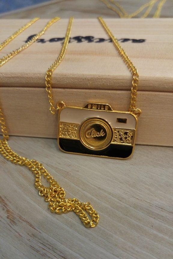 κολιέ-γυναικείο-κάμερα-χρυσό