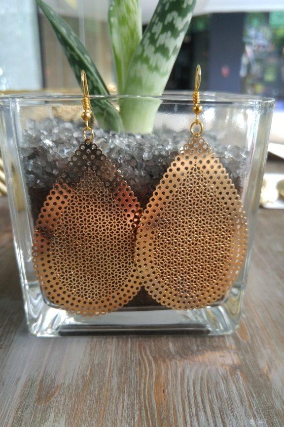 σκουλαρίκια-φίλιγκρι-χρυσά