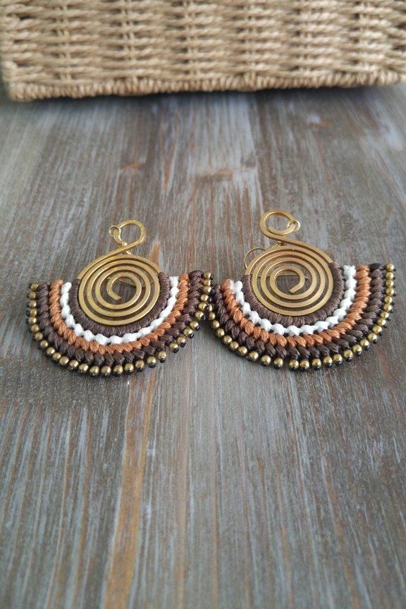 σκουλαρίκια-χειροποίητα-ινδικά