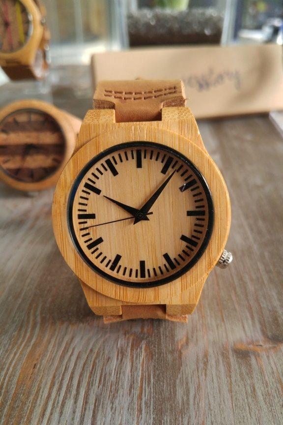 ξύλινο-ρολόι-απλό