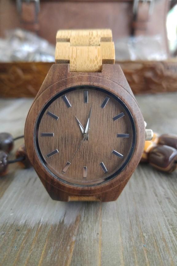 dba6e99e01 Ξύλινο ρολόι  Old Wood  ξύλινο μπρασελε - Ανδρικά Ξύλινα Ρολόγια ...