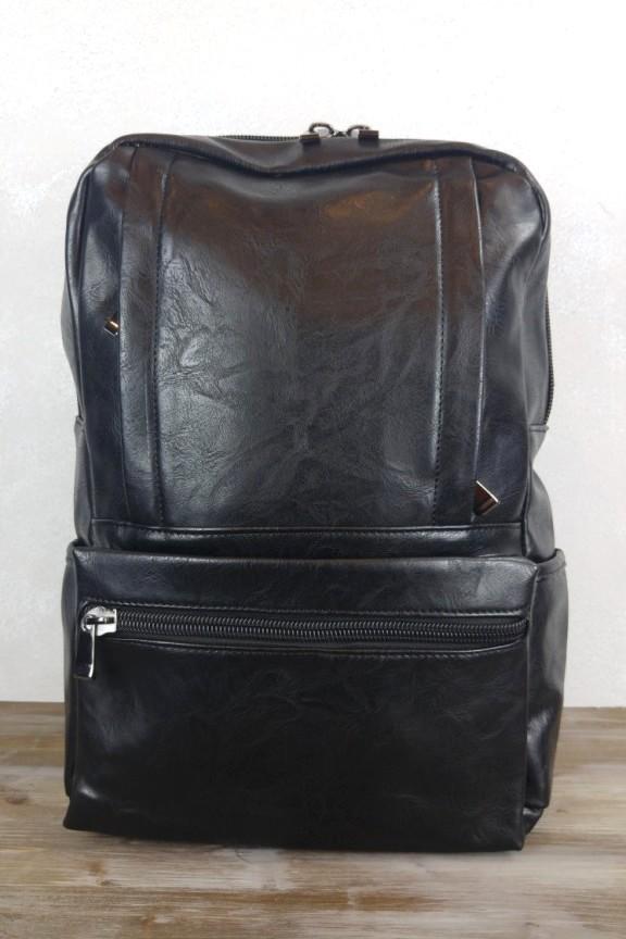ανδρική-τσάντα-laptop-usb-μαύρη