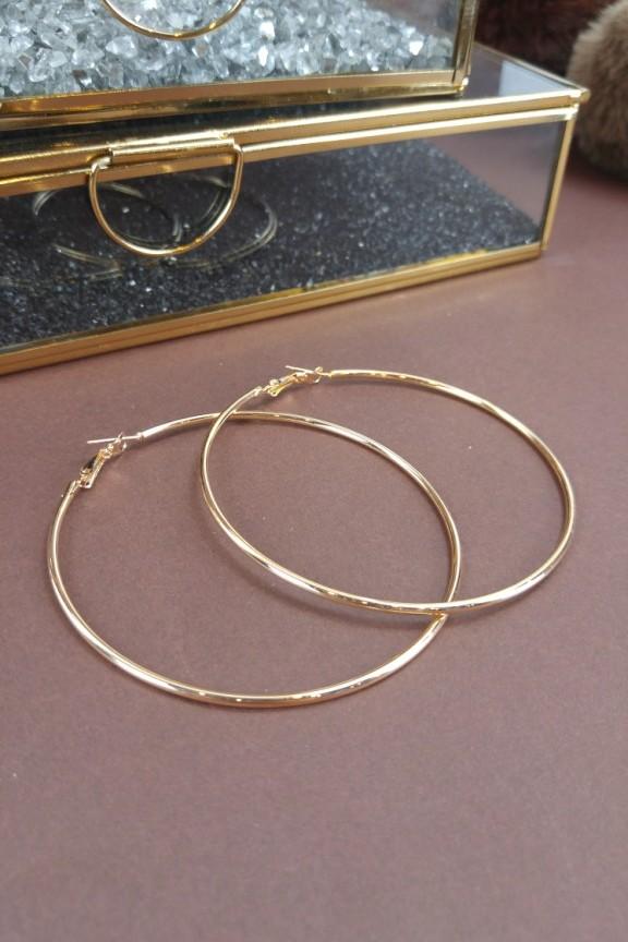σκουλαρίκια-κρίκοι-χρυσοί-μεγάλοι