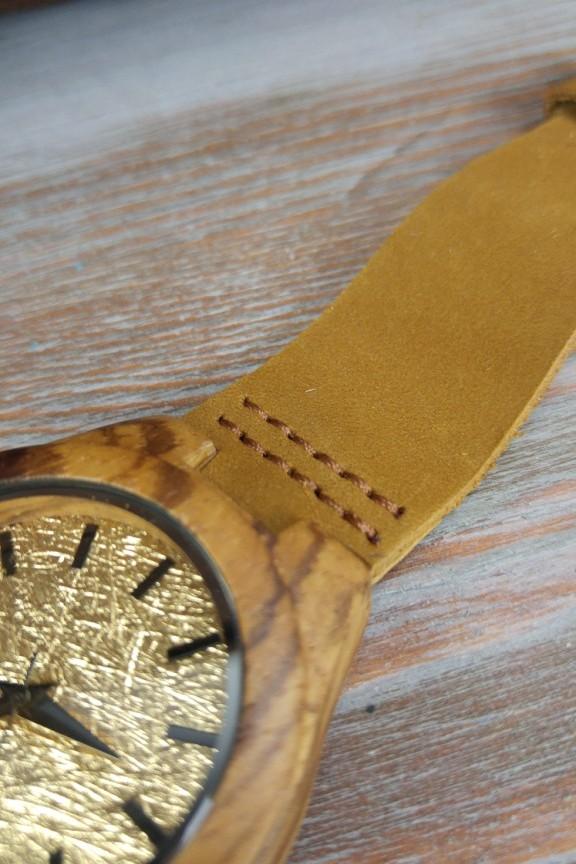 Ξύλινο ρολόι  Midas  μπεζ λουράκι (μικρό) - Γυναικεία - Accesstory.gr 395802ac814