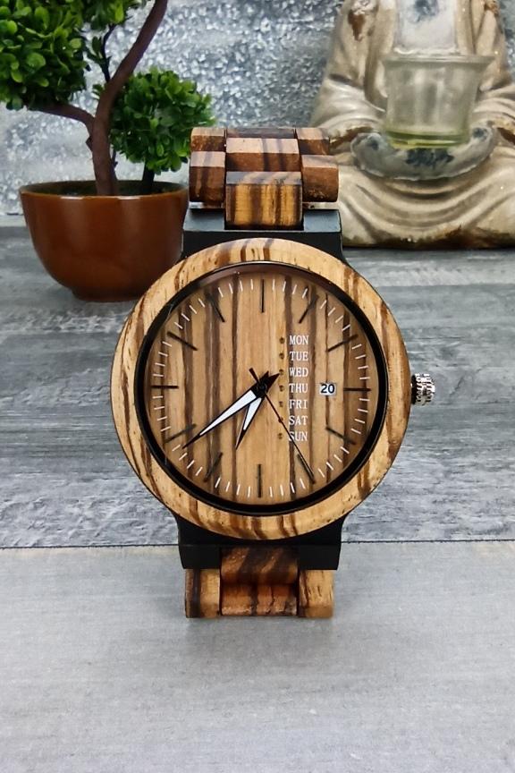 ξύλινο-ρολόι-χειρός-μπρασελέ-ημερομηνία
