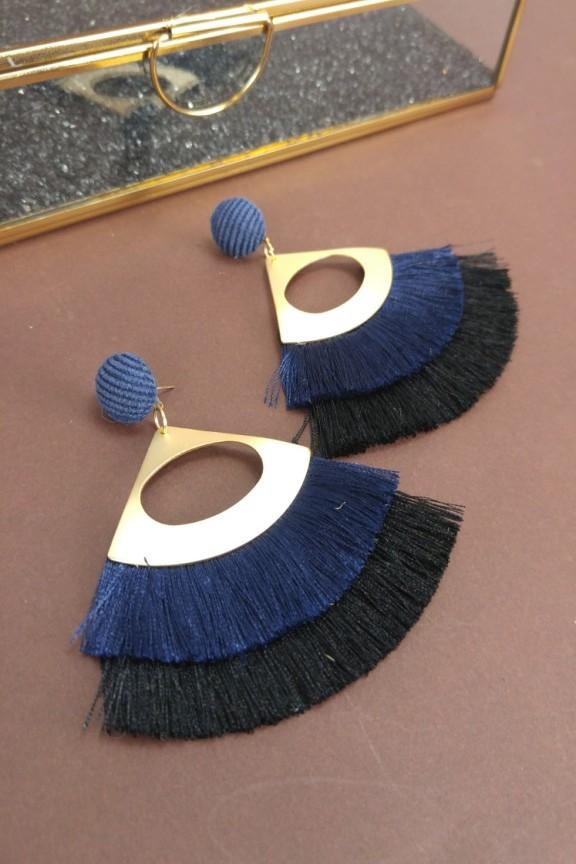 σκουλαρικια-κροσια-μπλε