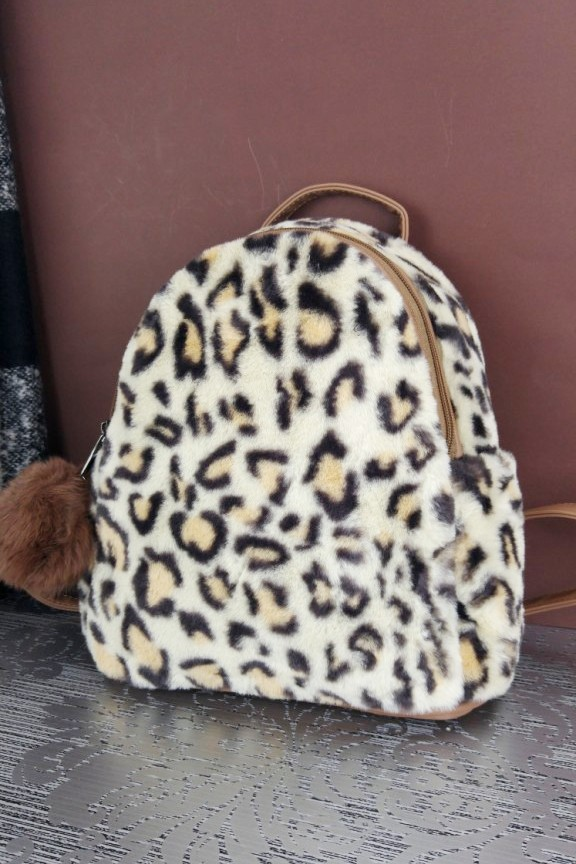 τσάντα-πλάτης-γούνινη