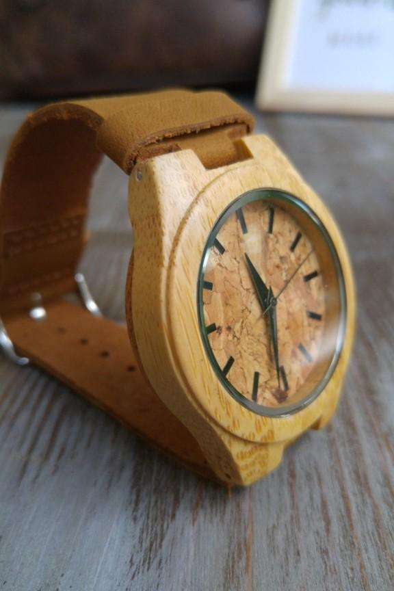 Ξύλινο ρολόι  Pure  καφέ λουράκι (μικρό) - Γυναικεία Ξύλινα ... 58099dcc8c9