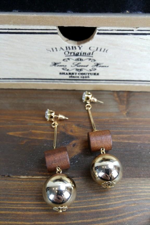 σκουλαρίκια-ξύλινα