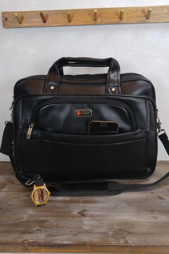 τσάντα-laptop-μαύρη