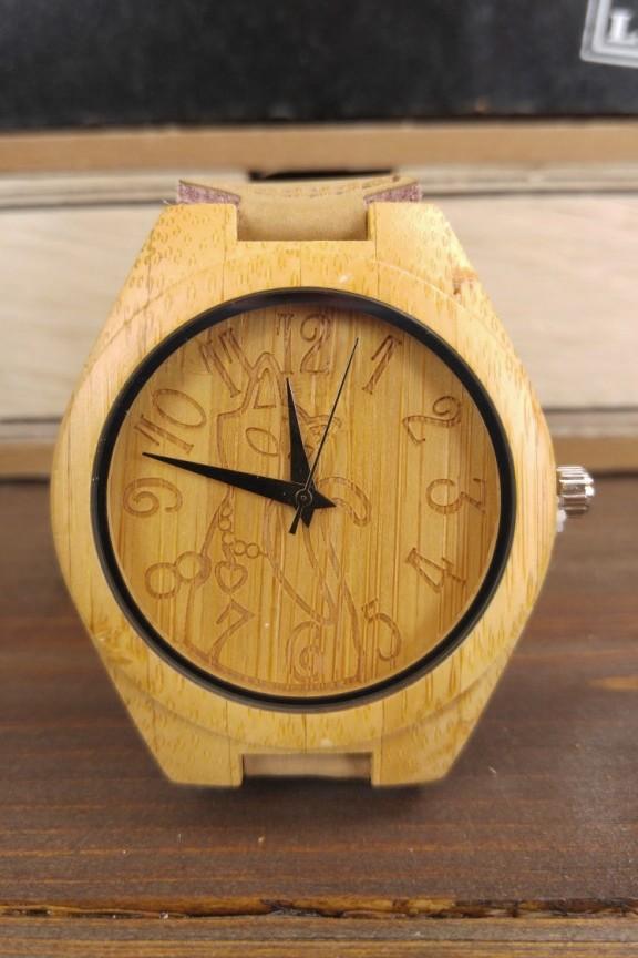 ξύλινο-ρολόι-γάτα