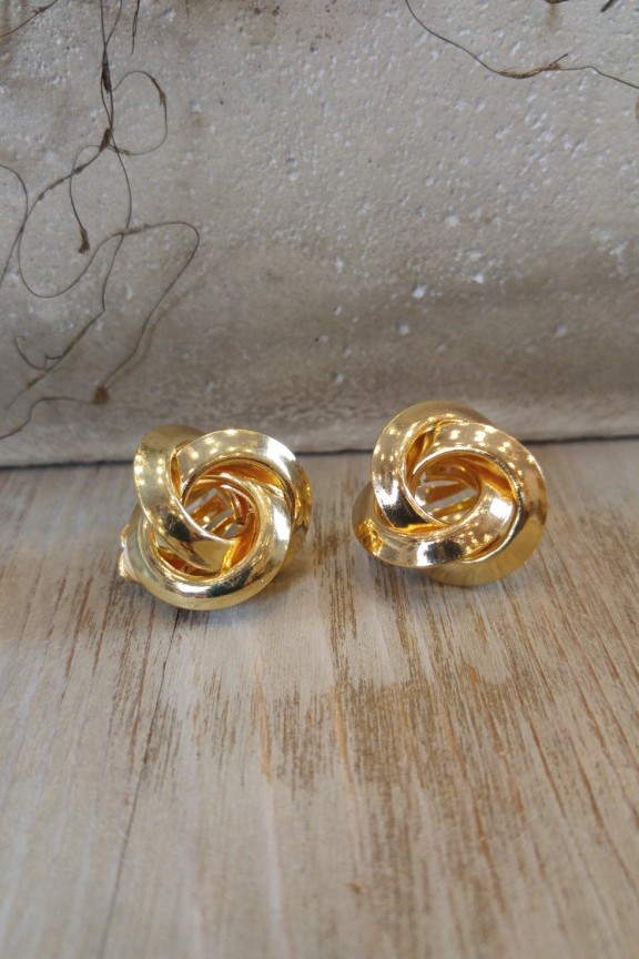 σκουλαρικια-κλιπ-χρυσα