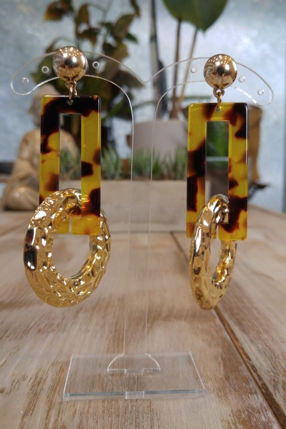σκουλαρίκια-ρητίνης-λεοπάρ