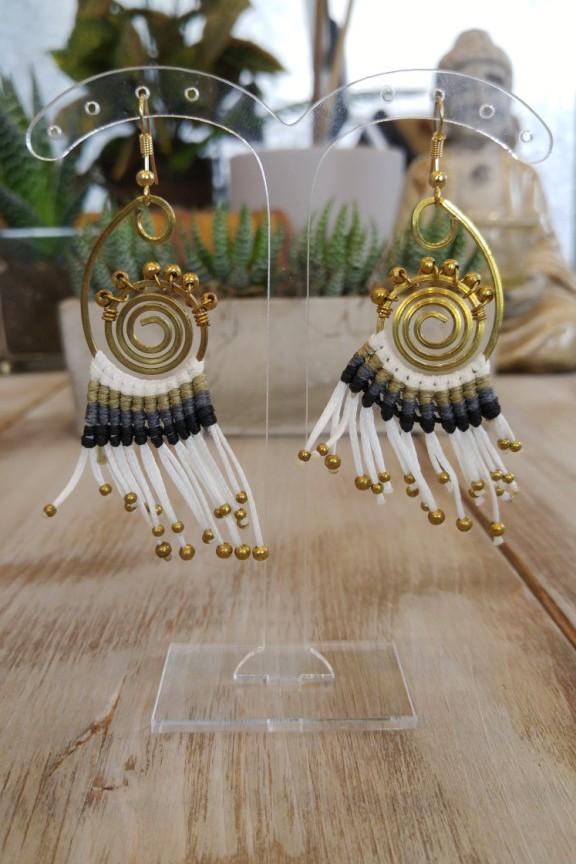 σκουλαρίκια-χειροποίητα-πλεκτά