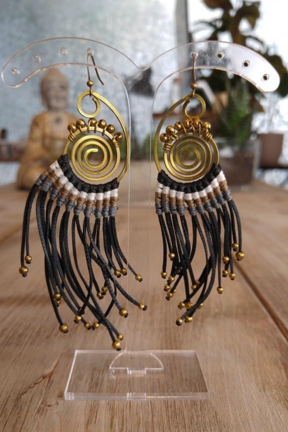 σκουλαρίκια-ινδικά-μαύρα