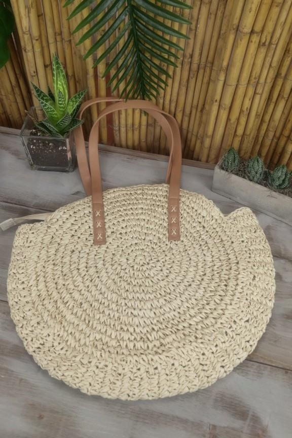 ψάθινη-τσάντα-στρογγυλή-εκρού-μεγάλη