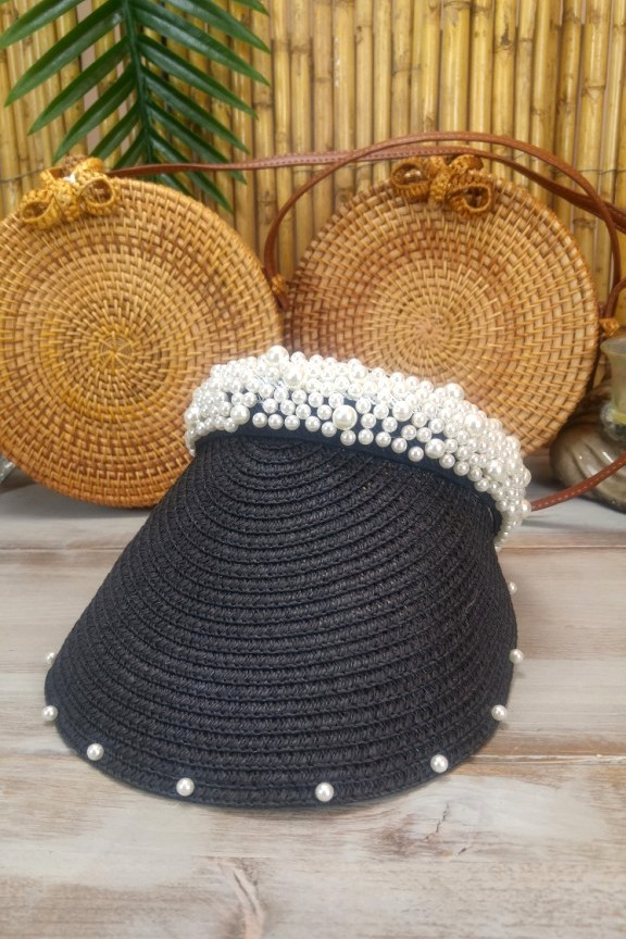 καπέλο-ψάθινο-μαύρο-visor