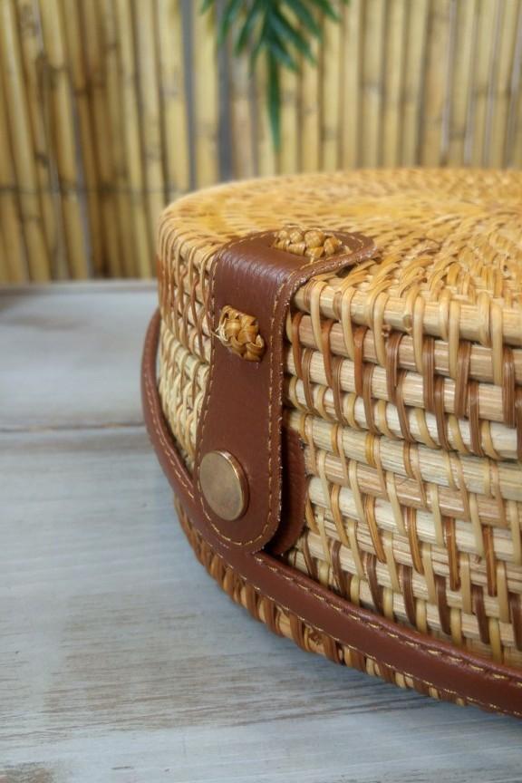 τσάντα-μπαμπού-στρογγυλή-δέρμα