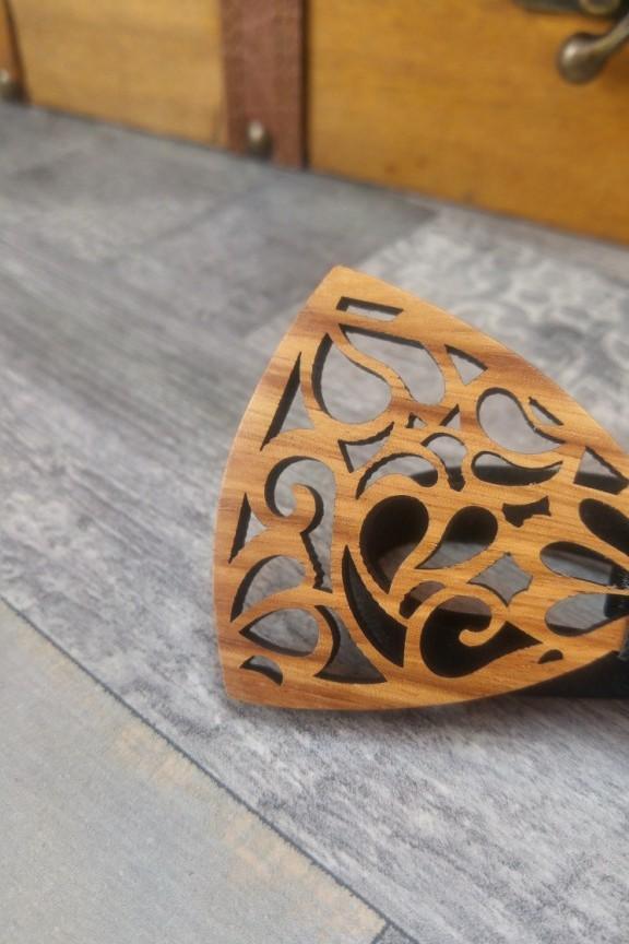 ξύλινο-παπιγιόν-σχέδιο-μαύρο