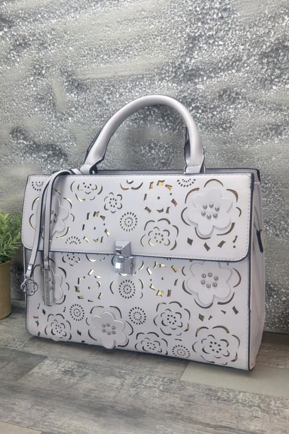 τσάντα-γυναικεία-φλοράλ-λιλά