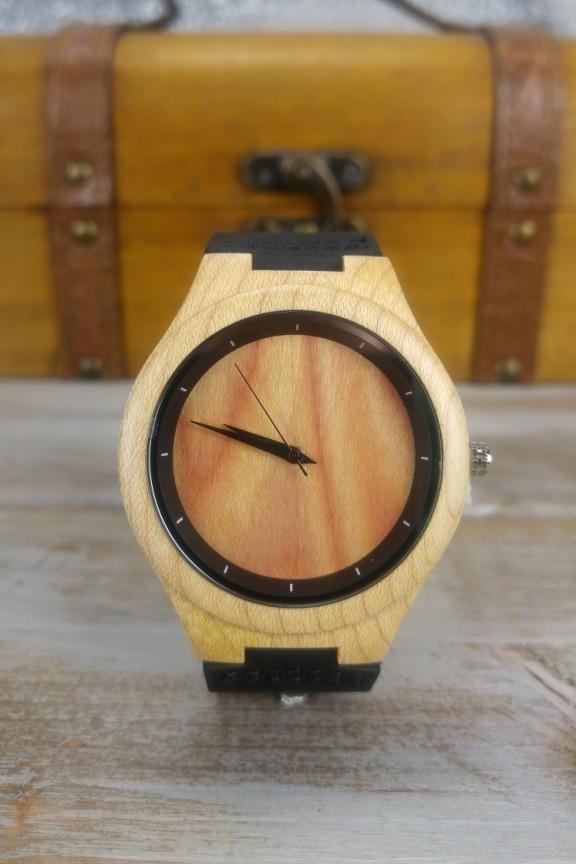 ξύλινο-ρολόι-ανδρικό-μαύρο