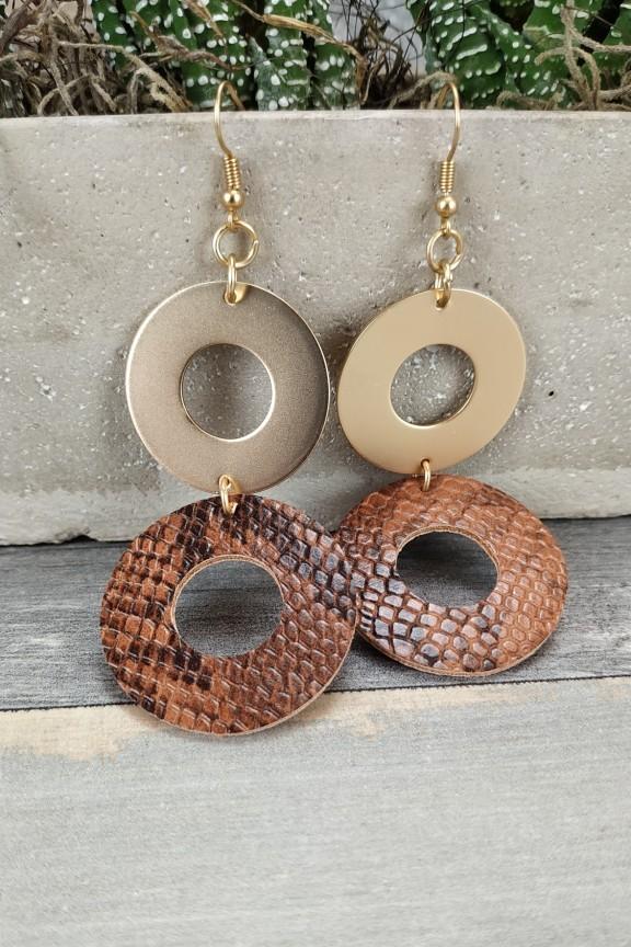 σκουλαρίκια-φίδι-ταμπά