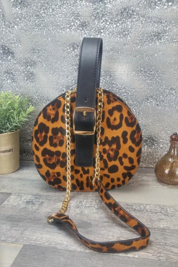 τσάντα-λεοπάρ-στρογγυλή