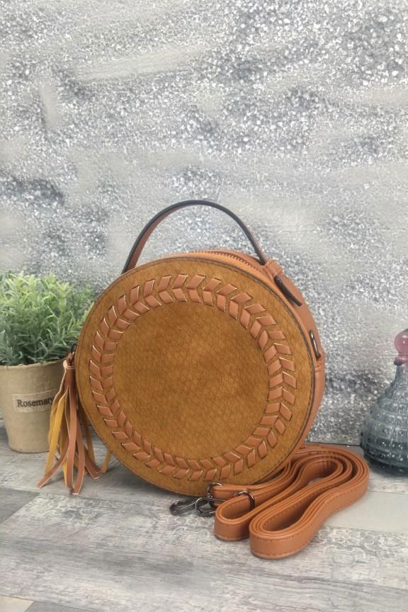 τσάντα-στρογγυλή-καστόρι-καφέ