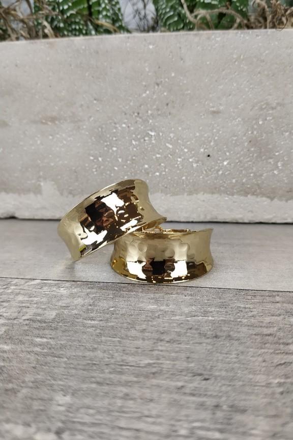 κρίκοι-σφυρήλατοι-μικροί-χρυσοί