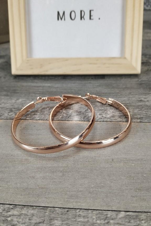 σκουλαρίκια-πλακέ-ροζ-χρυσό