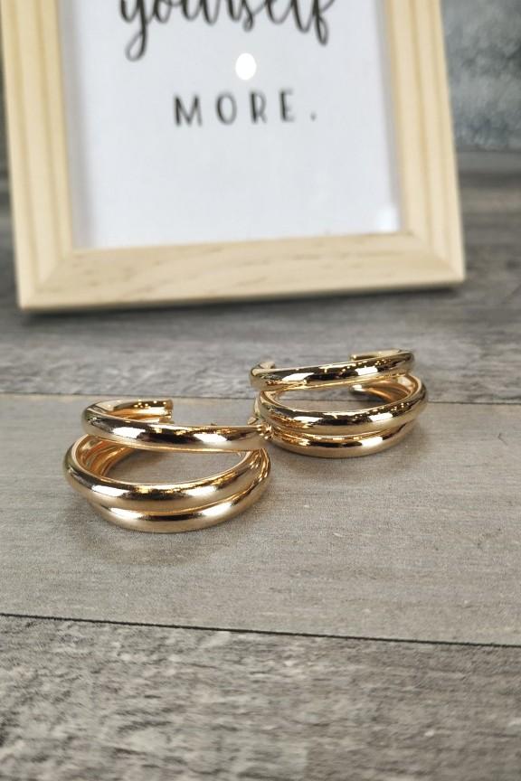 σκουλαρίκια-κρίκοι-τριπλοί-χρυσοί