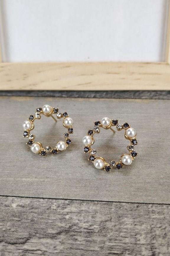 σκουλαρίκια-κρίκοι-πέρλες-πέτρες