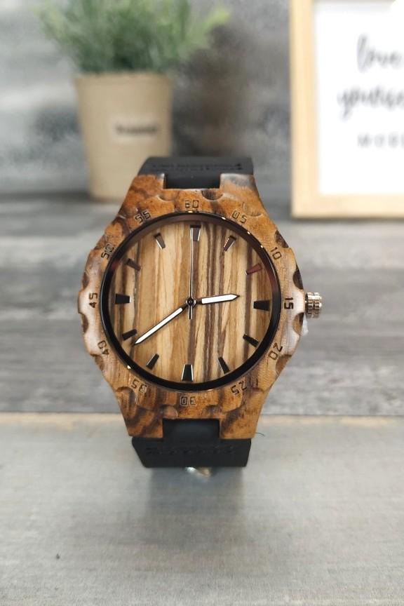 ξύλινο-ρολόι-χειρός-γυναικείο-μαύρο-λουράκι