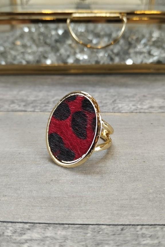δαχτυλίδι-γυναικείο-λεοπάρ-κόκκινο-χρυσό