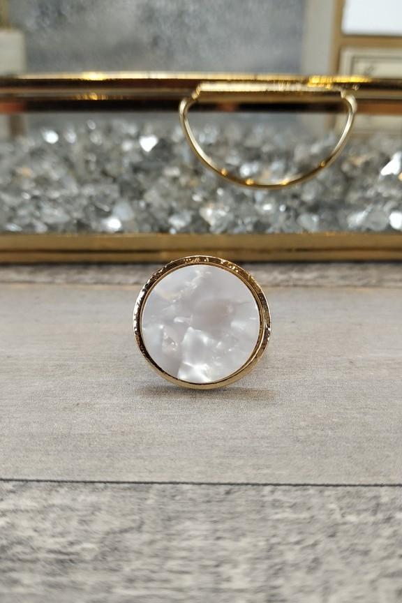 δαχτυλίδι-γυναικείο-μάρμαρο-χρυσό