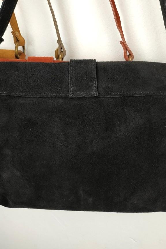 γυναικεία-τσάντα-δέρμα-σουέτ-μαύρη