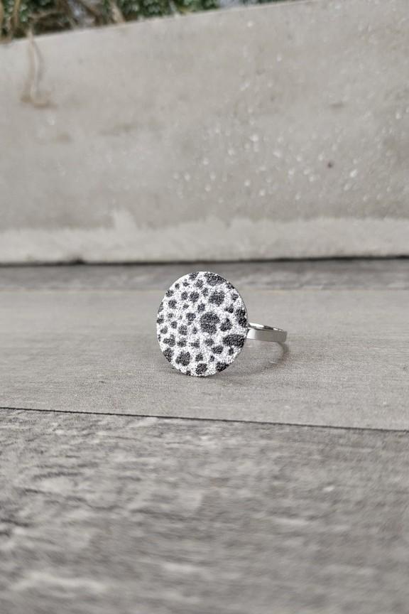 γυναικείο-δαχτυλίδι-ατσάλι-λεοπάρ-ασημί