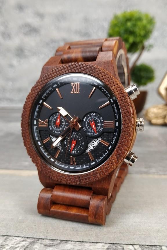 ξύλινο-ρολόι-μηχανισμός-μπρασελέ-κερασιά