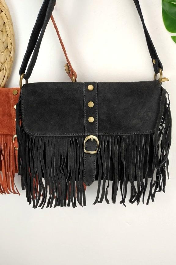 δερμάτινη-τσάντα-σουέτ-τρουκς-μαύρη