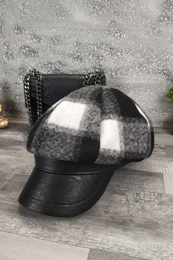 γυναικείο-καπέλο-μάλλινο-μπερές-μαύρο