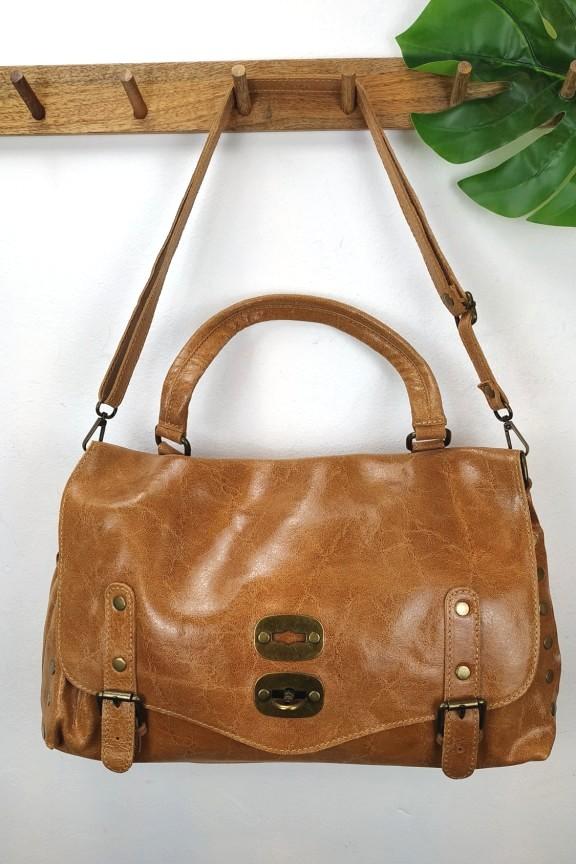 δερμάτινη-τσάντα-ταχυδρόμου-ταμπά