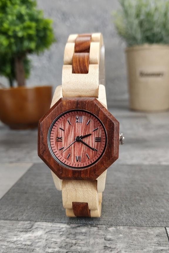 ξύλινο-ρολόι-λεπτό-μπρασελέ