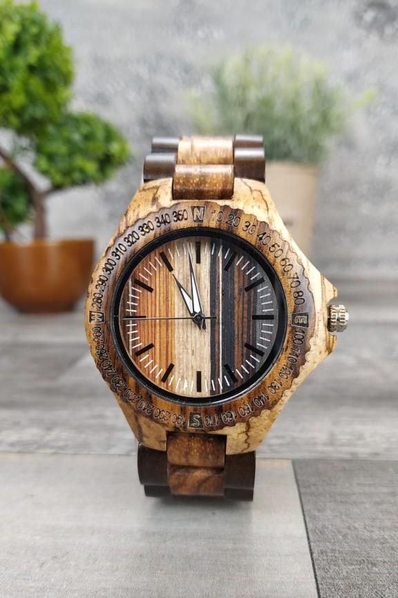 ξύλινο-ρολόι-μικρό-μπρασελέ