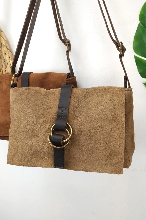 δερμάτινη-τσάντα-καστόρι-πούρο-κρίκο