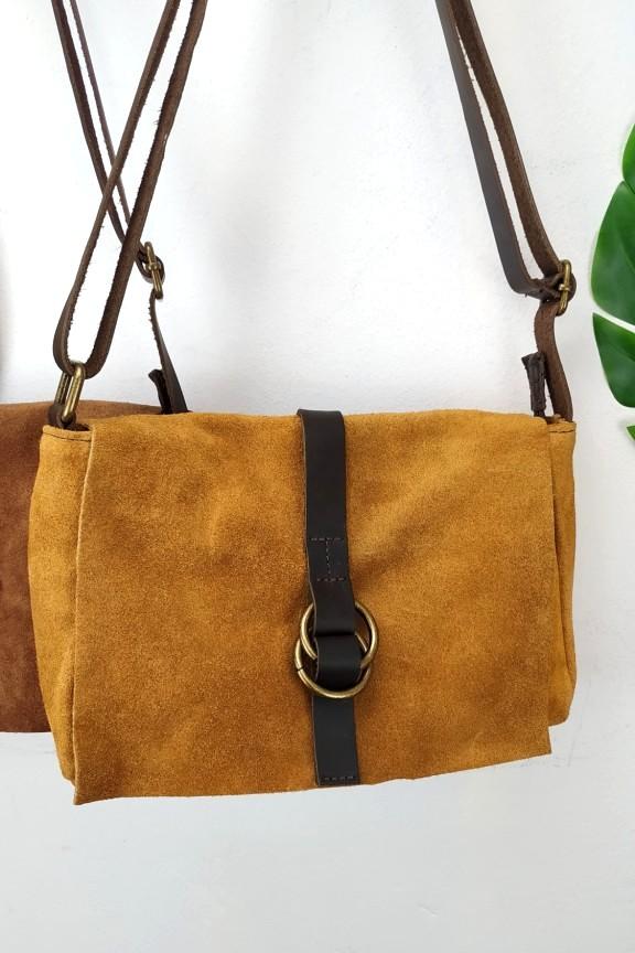 δερμάτινη-τσάντα-καστόρι-ταμπά-κρίκο