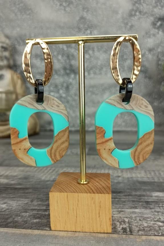 σκουλαρίκια-ρητίνη-ξύλο-βεραμάν