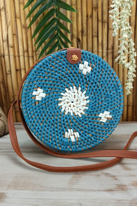 τσάντα-μπαμπού-στρογγυλή-γαλάζια